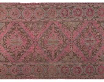 Pink Oriental Rug | Etsy