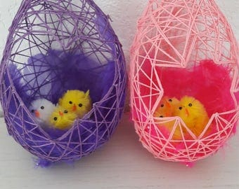 to suspend or ask Easter eggs
