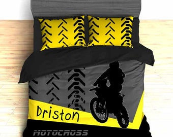 Unique Motocross Bedding Related Items Etsy