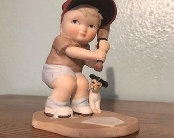 """The Heirloom Tradition """"Batter Up"""" Porcelain Figurine"""