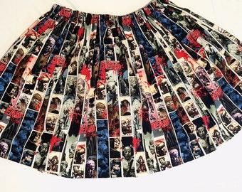 The Walking Dead Comic Skirt - High Waist