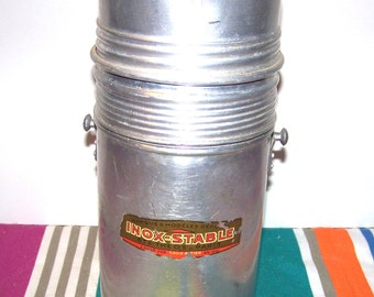 Aluminum and glass THEOS Paris - aluminum and glass Thermos thermos