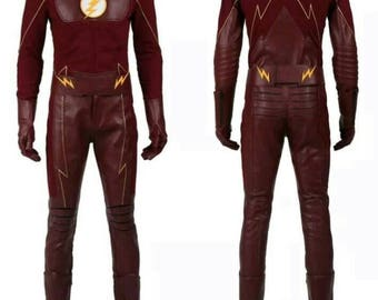 Barry Allan the flash cosplay