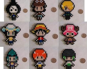 One Piece Perler Bead Characters