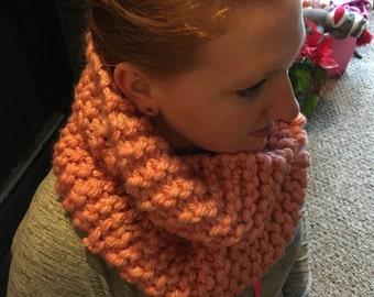 Knit Scarf, Knit Infinity Scarf
