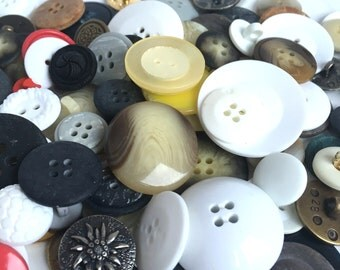 bulk buttons, 100g buttons, mixed buttons, button craft, wholesale buttons, vintage buttons, craft buttons, sewing buttons, UK supplies