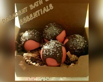 Chocolate Strawberry Truffles - 1Box