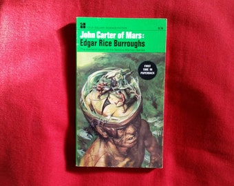 Edgar Rice Burroughs - John Carter of Mars (Four Square Science Fiction 1967) - Barsoom #11