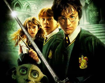 Harry Potter and the Chamber of Secrets , 11 x 17 Movie Poster - Style K
