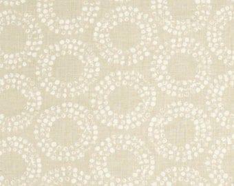 """Fabric Remnant - Full Circle Egg Shell - Cloud 9 Organics - 12""""x36"""""""