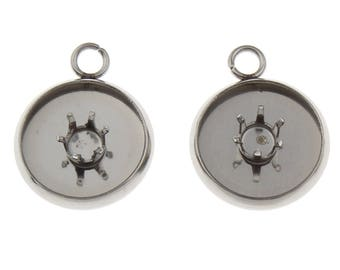 2/4/6pairs Stainless steel setting