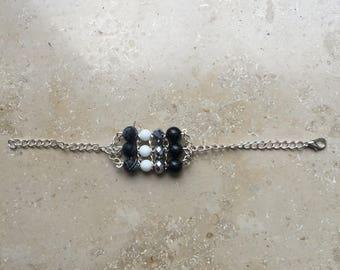 Bars Bracelet-Black