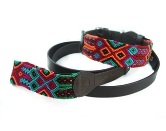 Caribbean Leash - Red/Green/Blue