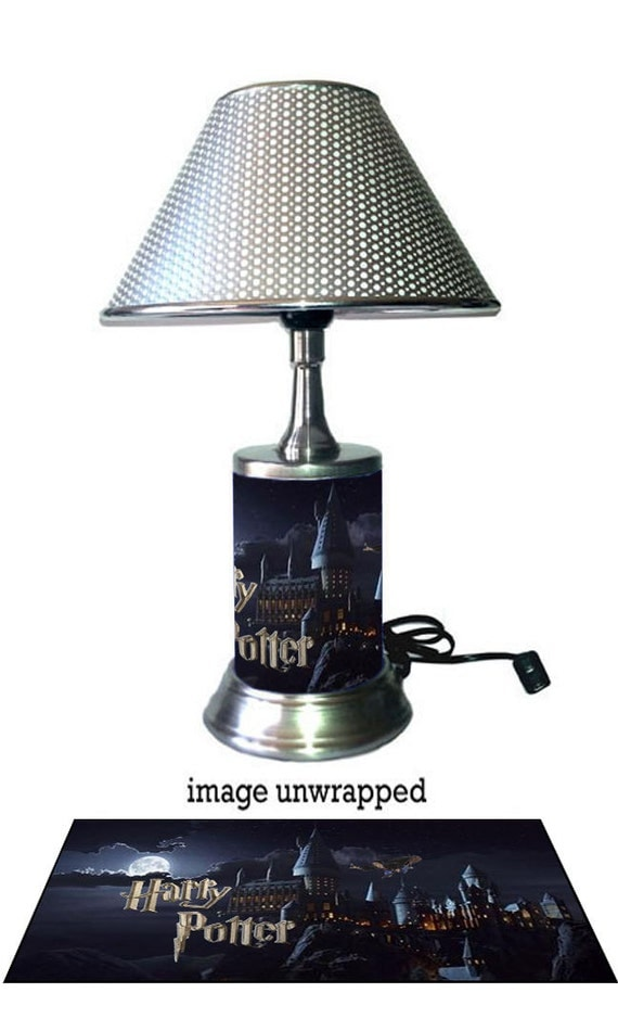 Harry Potter Lamp with chrome shade