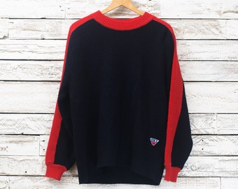 30% OFF | Vintage wool pullover / Vintage SKI sweater