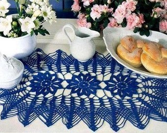 Handmade, Crochet Doily, Oval Crochet Tablecloth, Crochet Home Decor, Table Decorations, Gift For Women oval doilies