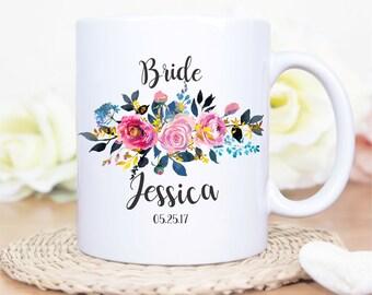 Custom Brides Mug, Brides Coffee Mug, Brides Coffee Mug, Brides Mug, Custom Bridal Party Mugs, Brides Gift, Brides Mug, Bridesmaids Proposal