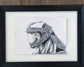 Venom ink (Original ink artwork)