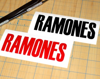 The Ramones Vinyl Sticker | Ramones Decal