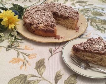 Famous Crumbcake, Coffecake, Sweet Bread, Breakfast Cake, Cinnamon Cake, Gifts under 20, Hostess Gift, Gift Package