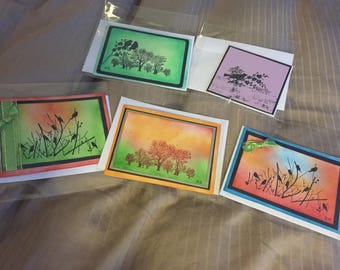 Greeting cards (with envelopes)