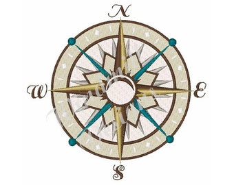 Compass - Machine Embroidery Design