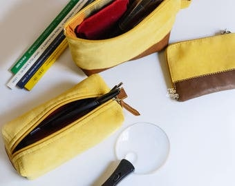 Velvet pencil case With You