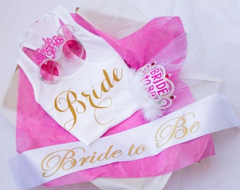 SALE - Bride-to-Be Sash - The perfect gift for every Bride-to-be, Bridal Shower, Bachelorette Party Essentials, Bride to Be Must-haves