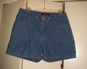 Vintage Lee Riveted Jean Shorts Size 10