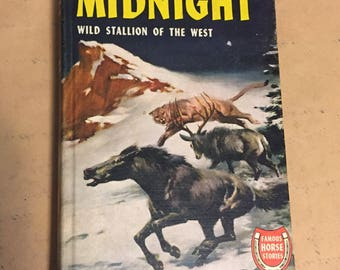 Signed 1940 Copy of Midnight Wild Stallion of the West