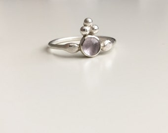 one of a kind amethyst ring size 5.5