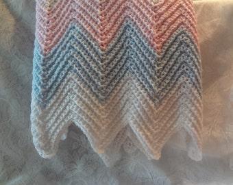 Handmade Crochet Baby Afghan