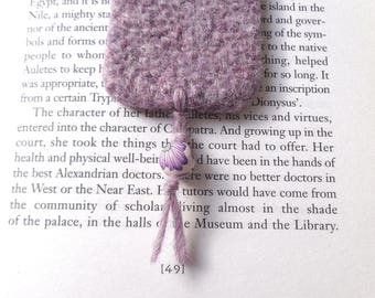 Lovely lavender felted bookmark