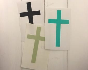 Cross Decal - Christian Decal