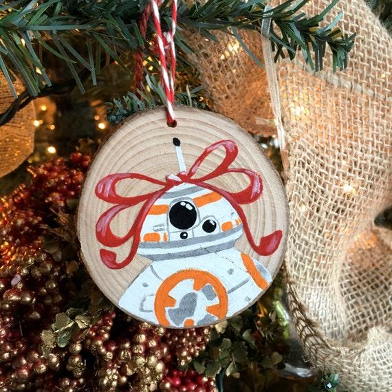 Star Wars BB8 Christmas Ornament - Star Wars Ornament - BB8 Ornament - Star Wars Fan Art