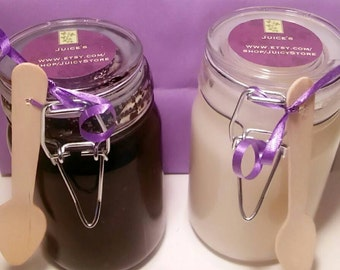 Juice's Mocha Suga Coffee Scrub/ Vanilla Coconut Suga Scrub