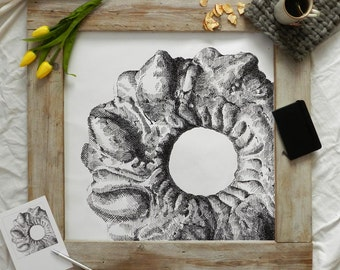 Posters canvas wall mural designs food