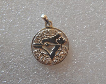 Blue Jays logo pendant 925 silver