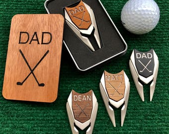 Personalized Golf Ball Marker Divot Tool Fathers Day Gift Golf Gift for Man Graduation Dad Son Boyfriend Husband Guy Best Man Groomsmen Gift
