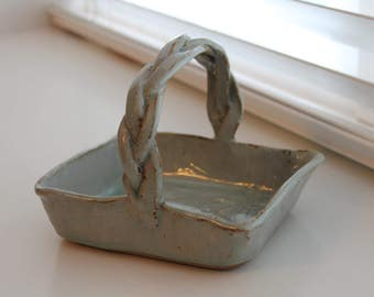 Handmade Ceramic Basket