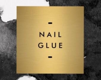 Tube of 2g nail glue • press on nail glue • gel nail glue • fake nails glue •