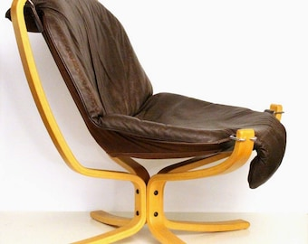 Falcon chair Sigurd Ressell by for Vatne Möbler, 1970s