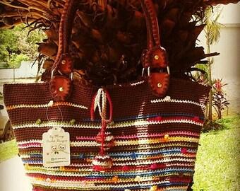 Crochet bags .Crochet Floral Bag .Crochet Slippers Womens Flats  floral. Crochet flats
