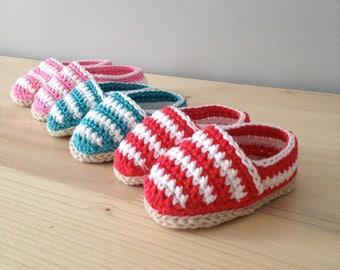 crochet sandals, shoes bebe