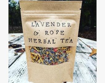 Lavender & Rose Herbal Tea