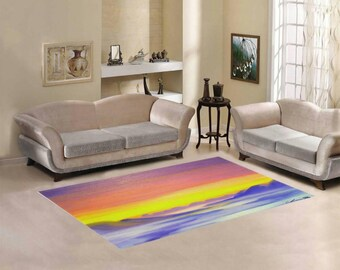 Area Rug 7' x 5' +3 other sizes -Cloud Valley- FREE Shipping