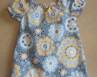 Alyssa Mae Peasant Girl Dress 0-3 Months