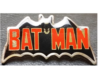 Vintage 1982 DC Comics Batman Lapel Pin - Officially Licensed - Great Collectible Gift!