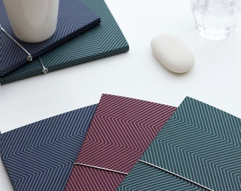 "1 block collection ""Chevron"" - 1 ""chevron"" notepad"