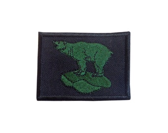 49th Infantry Division Patch/Badge - World War II - Embroidered Polar Bear - E74